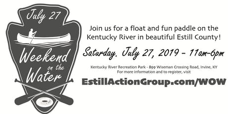 Weekend on the Water - Fun paddle & river float tickets