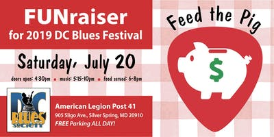 FUNraiser for 2019 DC Blues Festival