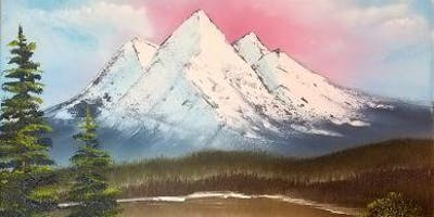 Bob Ross Oils Class Sun Aug 4th 9am-3pm $70 Includes Materials