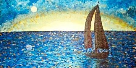 Paint Wine Denver Smooth Sailing Sun Aug 25th 5:30pm $25 tickets