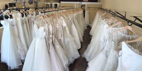 Summer Sample Wedding Dress Sale tickets