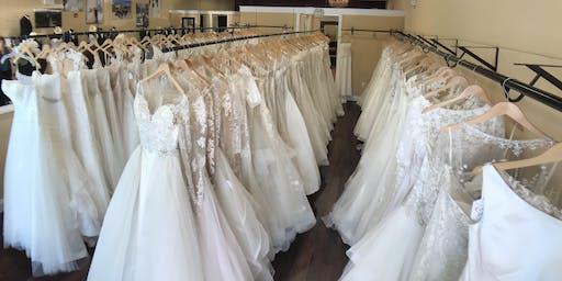 Summer Sample Wedding Dress Sale