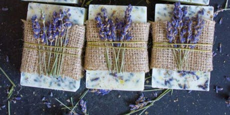 The Oily Well: Lavender Oatmeal Goats Milk Soap (1:30PM class) tickets
