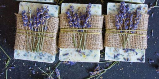 The Oily Well: Lavender Oatmeal Goats Milk Soap (1:30PM class)