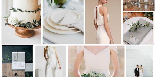 Minimalistic & Modern Styled Wedding Shoot- Pittsburgh