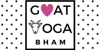 Goat Yoga Bham.-Yoga at our family farm with a herd of adorable baby goats!