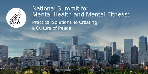 National Summit for Mental Health and Mental Fitness