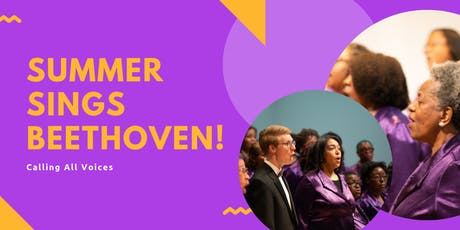Summer Sings Beethoven Registration  tickets