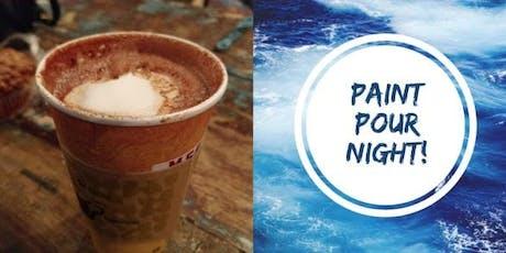 Paint Pour @Mestizo's Coffeehouse tickets