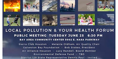 Pollution Here and Your Health Forum