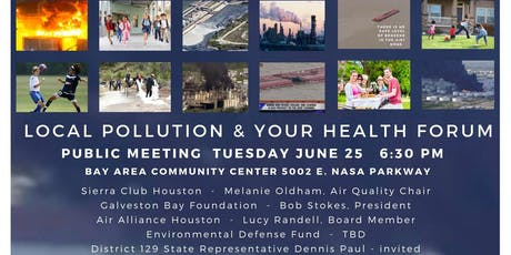 Local Pollution and Your Health Forum tickets