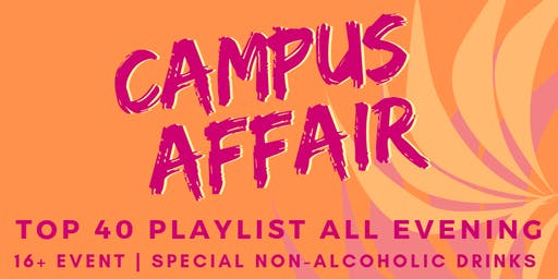 Campus Affair Party- All Ages Event (16+) on Pioneer Cruises