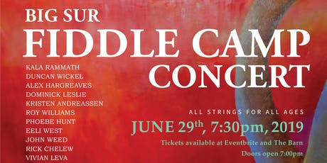 2019 Big Sur Fiddle Camp Community Concert tickets