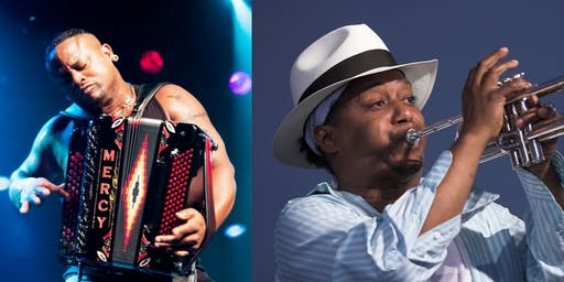Dwayne Dopsie & Zydeco Hellraisers + Kermit Ruffins & the Barbecue Swingers