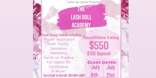 Classic and Volume Eyelash Extension Training