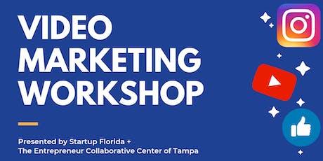 Startup Florida Workshop + Dinner | Video Marketing for Business tickets