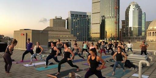 Rooftop Yoga!