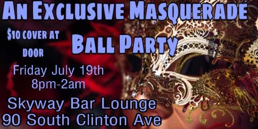 An Exclusive Masquerade Ball theme Party