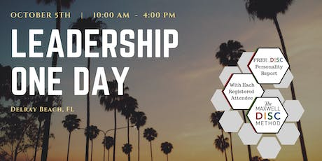 Leadership One Day - Delray Beach, FL tickets