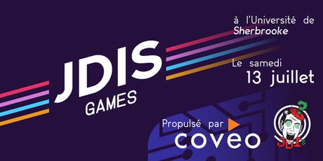 JDISGames 2019 tickets