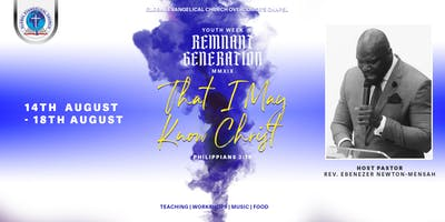 YOUTH WEEK: REMNANT GENERATION 2019