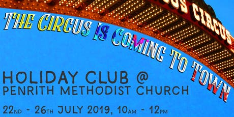 The Circus Is Coming To Town! - PMC Holiday Club 2019 tickets