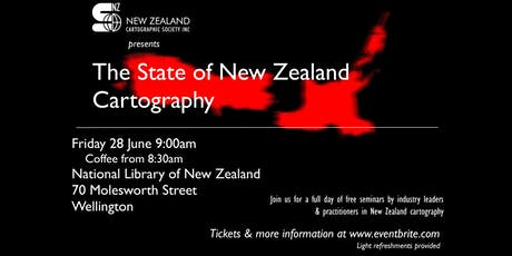 The State of New Zealand Cartography tickets