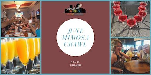 Pop-Up Augusta! June Mimosa Crawl