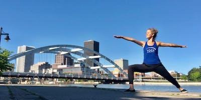 Waterfront Yoga and Mimosas