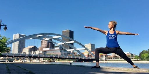 Waterfront Yoga and Mimosas