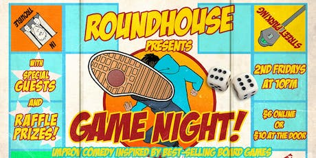 Roundhouse Presents: Game Night! tickets