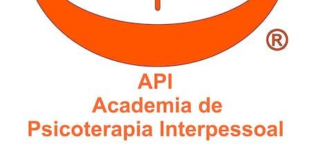 Especialização em PSICOTERAPIA INTERPESSOAL (nível A) - 15º Edição bilhetes