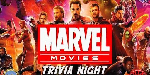 Marvel Movies Trivia NYC  (Avengers, Hulk, Thor, Captain America, Iron Man)