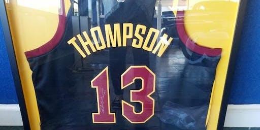 Cleveland Cavaliers Tristan Thompson Autograph Jersey Cert. of Authenticity