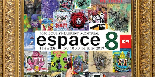 """A Global Artist Initiative"" Exhibition @ Espace8 Montreal"