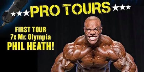 An Experience With Phil Heath at Ultimate Fitness Birmingham - UK Tour tickets