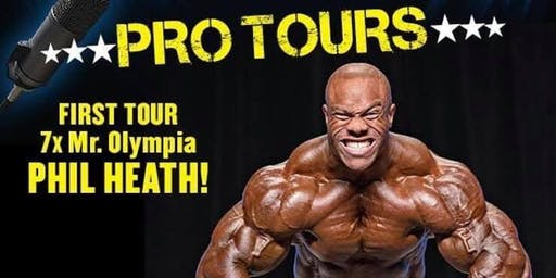 An Experience With Phil Heath at Ultimate Fitness Birmingham - UK Tour