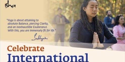Celebrate International Day of Yoga: Isha Foundation