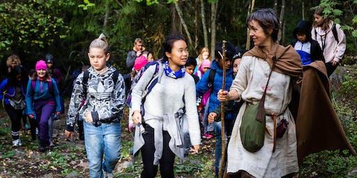 Botanical Storytelling (older children) in the Harris Garden