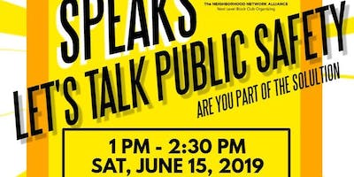 South Shore Speaks: Let's Talk Public Safety