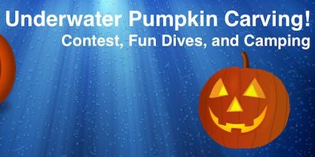 2019 Underwater Pumpkin Carving tickets