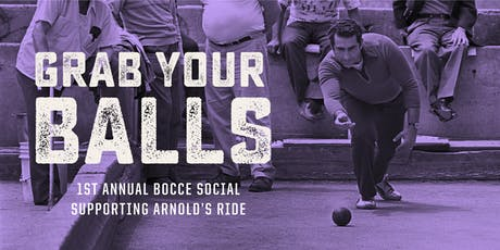 1st Annual Bocce Social – Supporting Arnold's Ride tickets