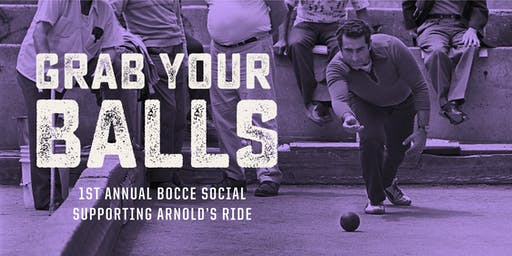 1st Annual Bocce Social – Supporting Arnold's Ride
