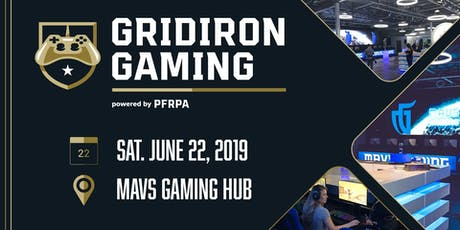 Gridiron Gaming Tournament - Hosted by the PFRPA tickets