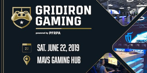 Gridiron Gaming Tournament - Hosted by the PFRPA