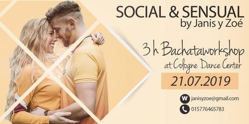 "BachataDay Cologne ""Social & Sensual"" mit Janis & Zoé"