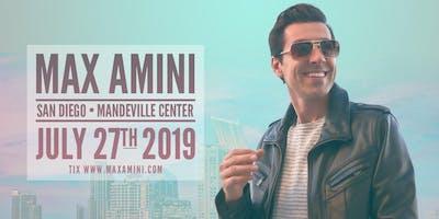Max Amini Live in San Diego