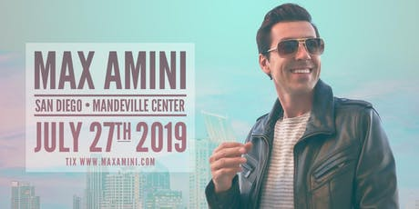 Max Amini Live in San Diego tickets