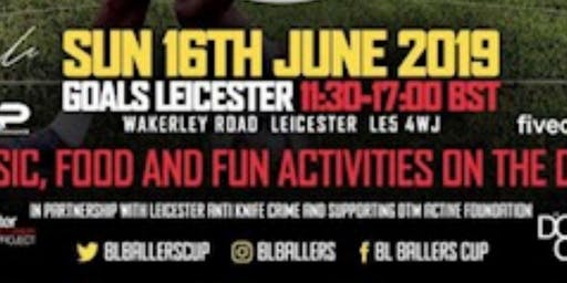 DTM ACTIVE supported by BALLERS partnering LEICESTER ANTI KNIFE CRIME
