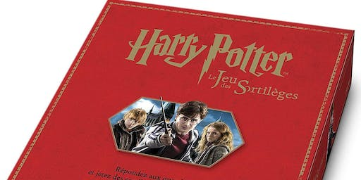 French Immersion Summer Board Games - Harry Potter (Ages 9-12)